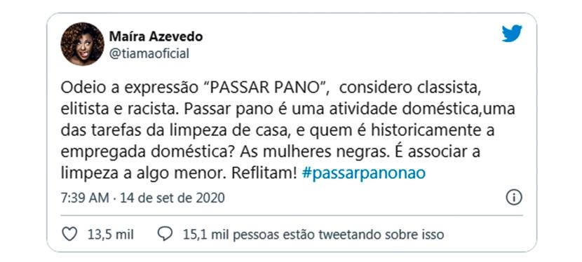 #passarpanonão